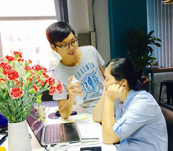 Giải ảnh chụp cặp đôi cu te nhất - Trao cho Trần Ngọc Anh
