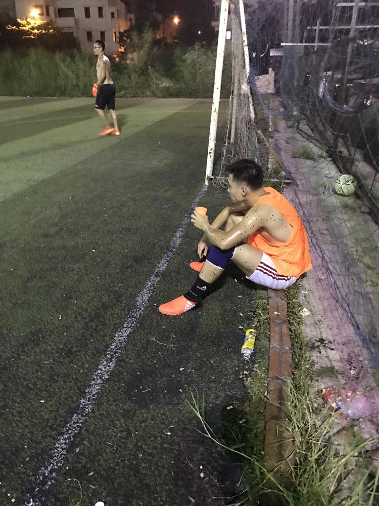 Ghi ít hơn số bàn thắng hơn thường lệ, Trung Kiên cũng tỏ ra mệt mỏi hơn rõ rệt